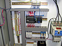 Pempek industrial control panel front view